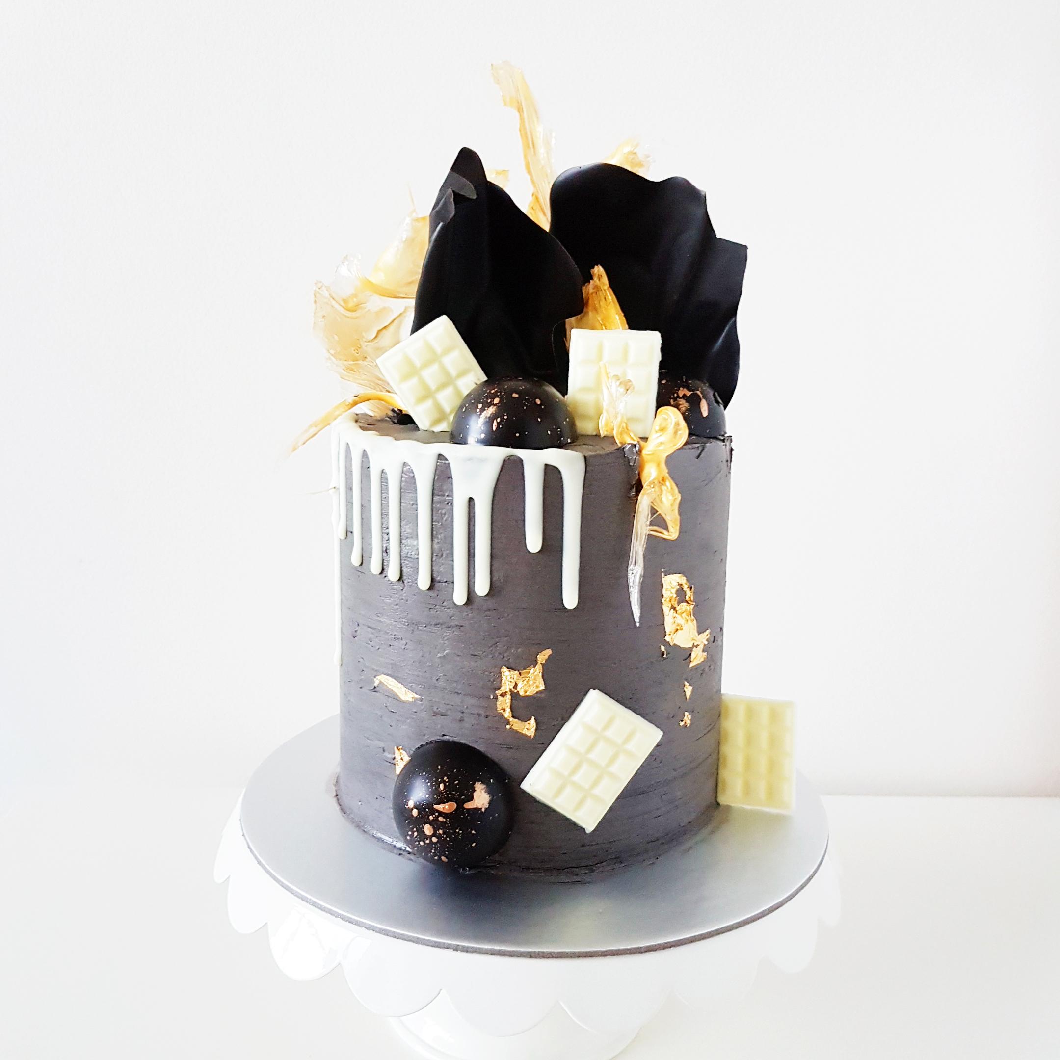 Masculine Concrete Cake