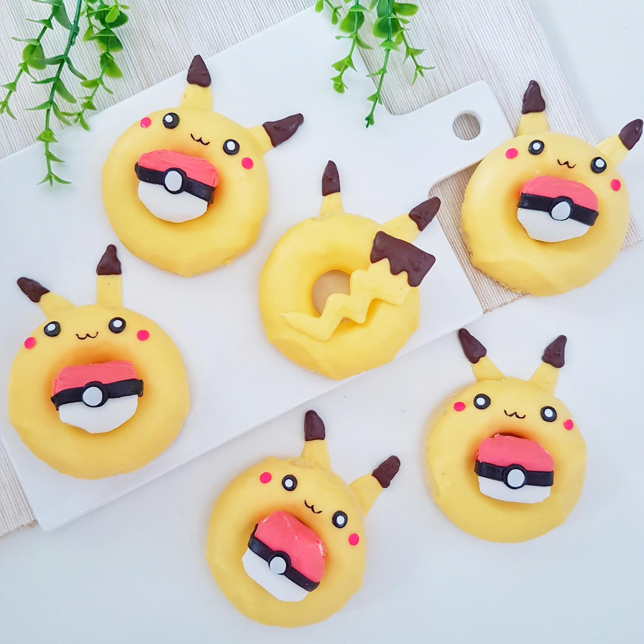 Pikachu Donuts