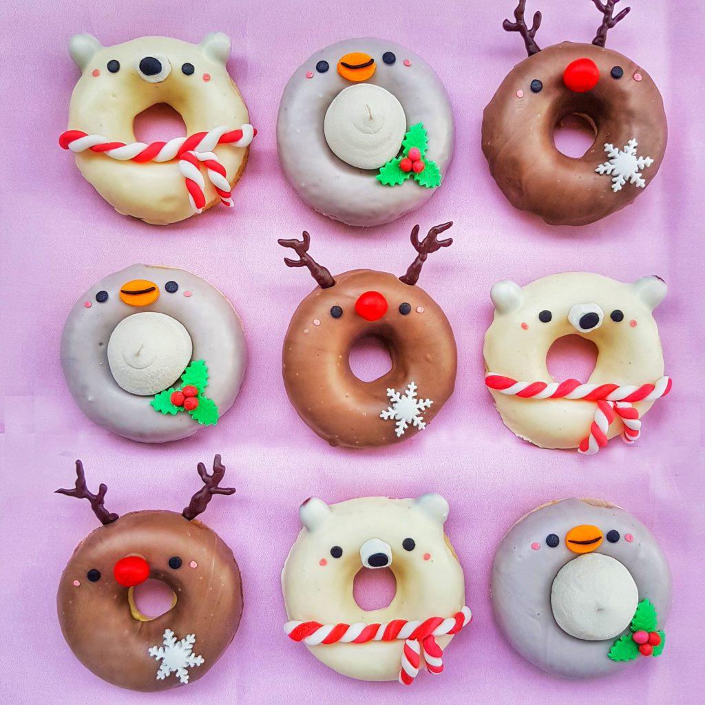 Christmas Animal Donuts